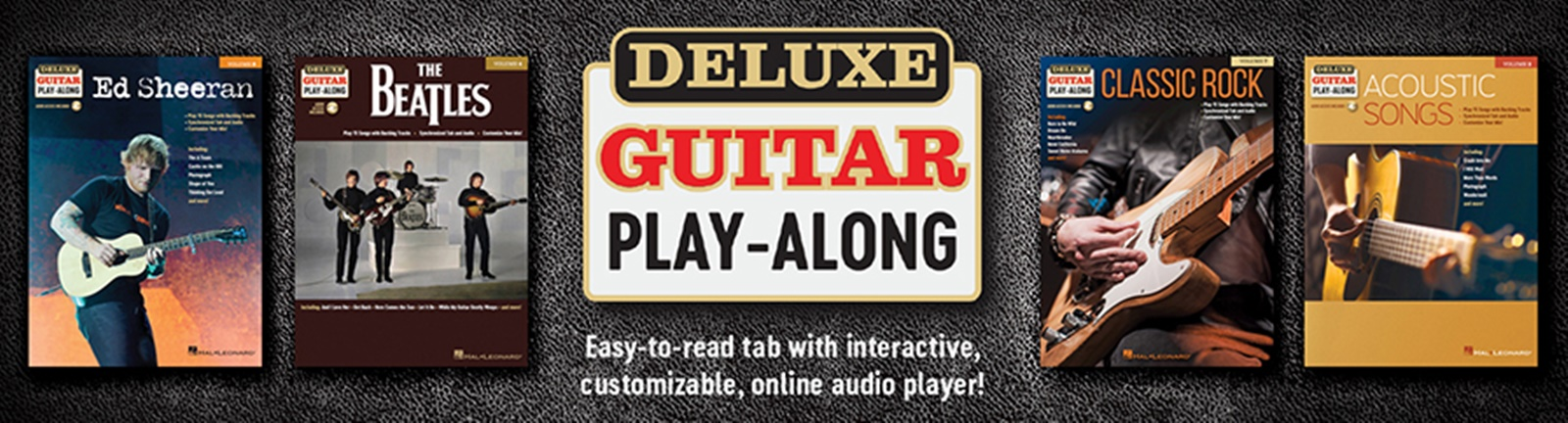 Deluxe Guitar Play-Along
