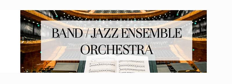 Band/Jazz/Orchestra